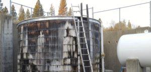 Mountain View School Water Tank
